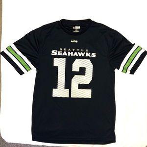 Team Apparel • Seattle Seahawks NFL Jersey #12 Fan